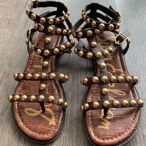 Sam Edelman eavan gladiator sandals Sz 7